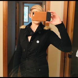 Evening Black coat!